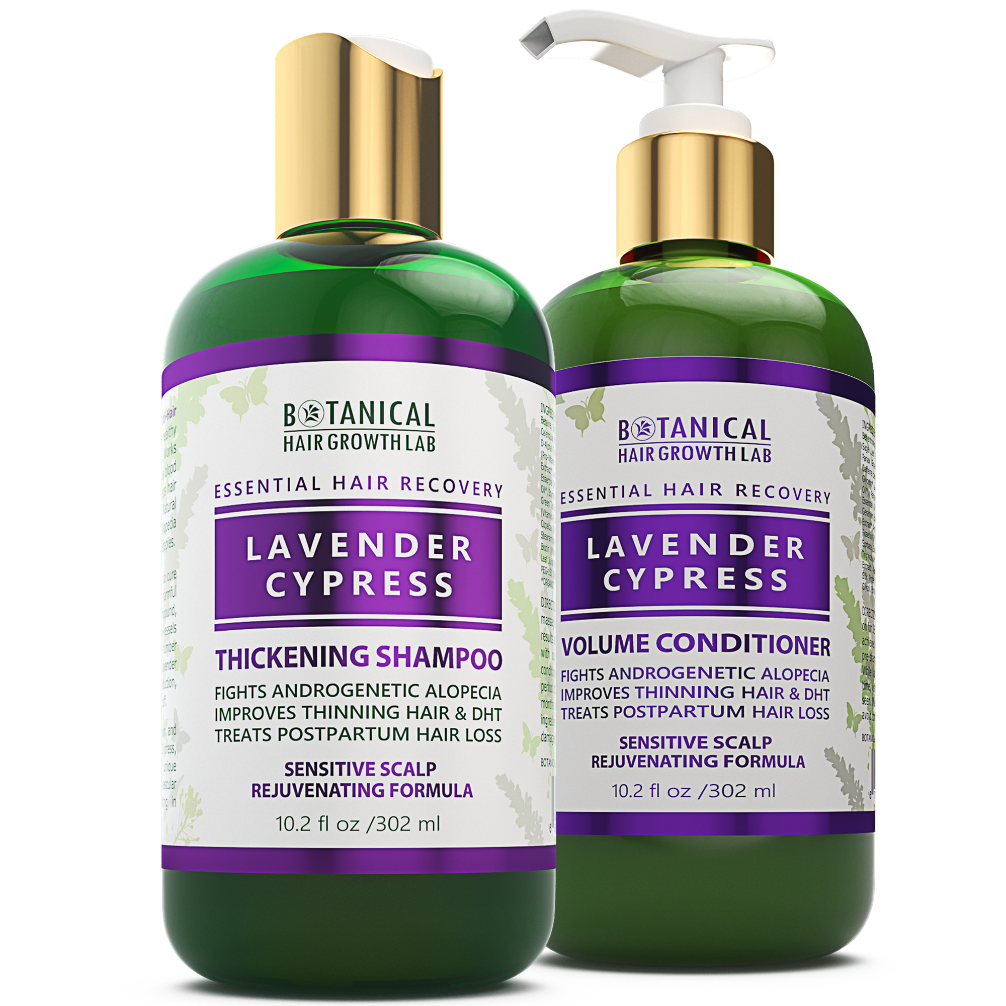 Essential Hair Recovery – Shampoo+Conditioner – Lavender & Cypress / Sensitive Scalp